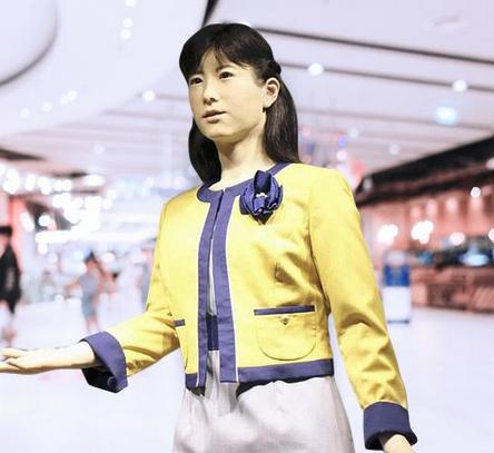 Aqua-City-Odaiba-menunjuk-robot-untuk-bekerja-di-meja-informasi